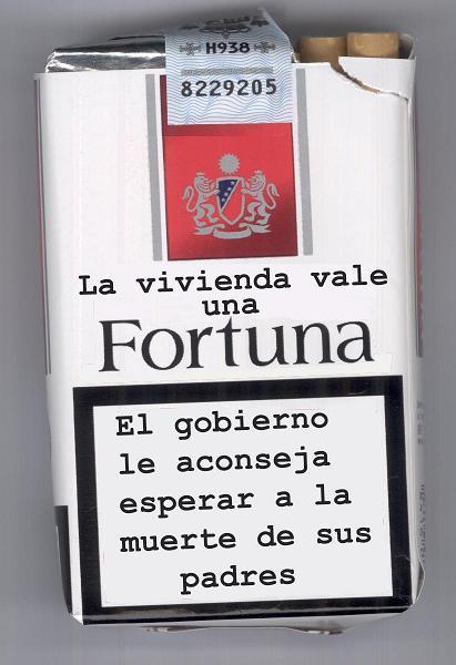 LA DOBLE MORAL DEL GOBIERNO Fortunalll