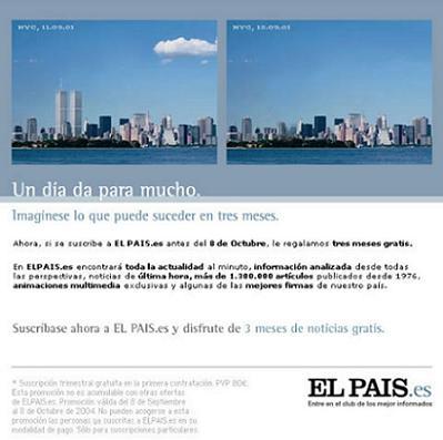 Campaña publicitaria de El País
