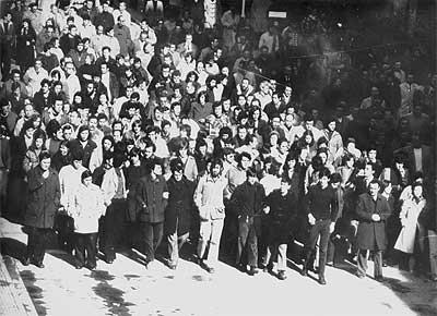 manifestación en Vitoria-Gasteiz 1976